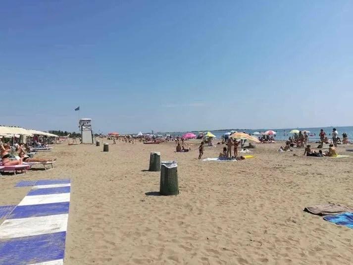 spiaggia libera del lido