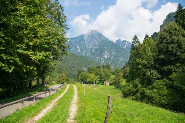 percorso didattico nella val Canzoi
