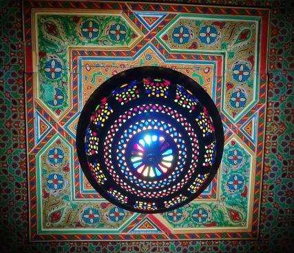 lampadario tipica lavorazione marocchina