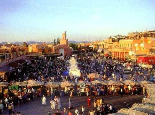 toccata e fuga a marrakesh con vista sulla piazza jemma el fna