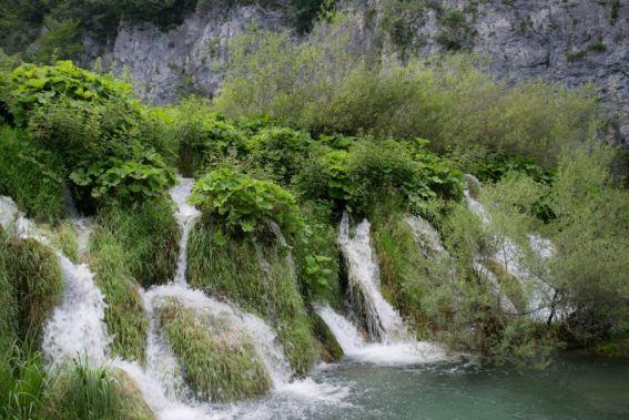cascade del patrimonio di Plitvice in croazia
