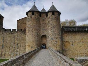entrata al castello comtal
