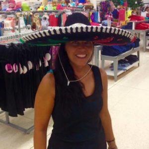 Foto home: Io con il sombrero a Playa del Carmen