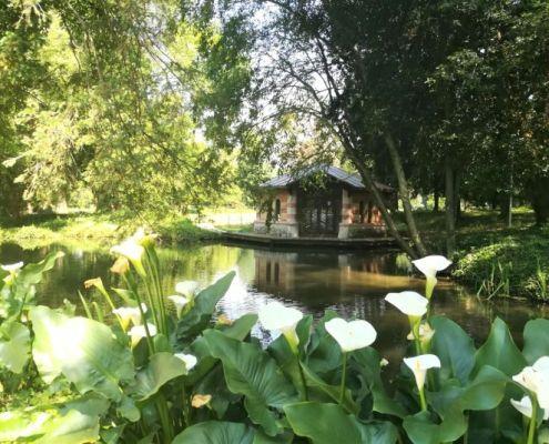 vista su giardino bolasco a castelfranco veneto