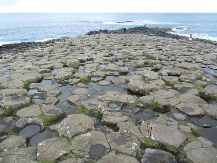 Veduta sulla Giant's Causeway