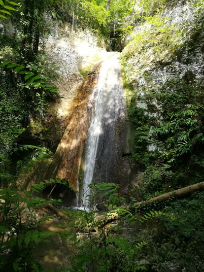 Una fra le cascate del Molina