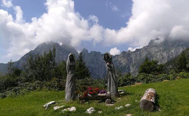 A Casera Ere nel comune di San gregorio nelle alpi