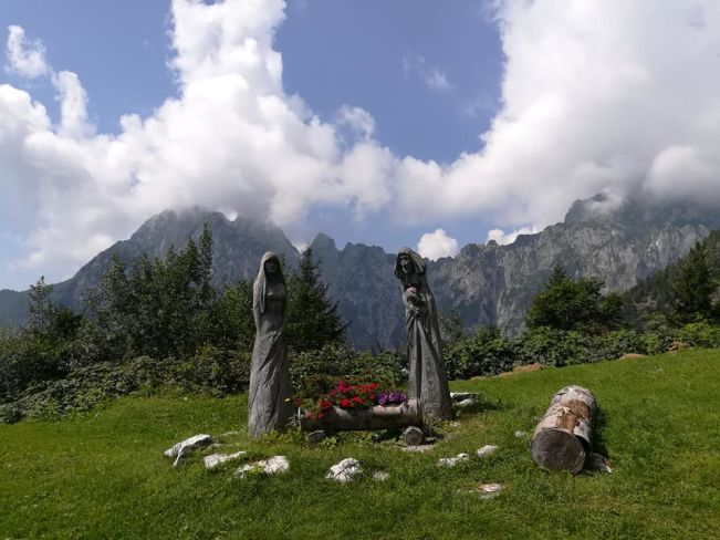 Perché visitare il veneto: A Casera Ere nel comune di San gregorio nelle alpi