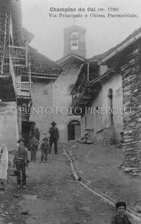 Foto storica Champlas Du Col