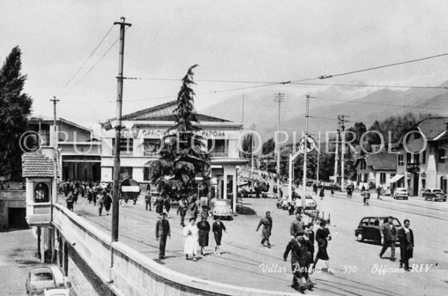 Foto storica Villar Perosa
