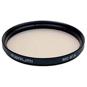 filtro di conversione per fotografia analogica 81A Marumi
