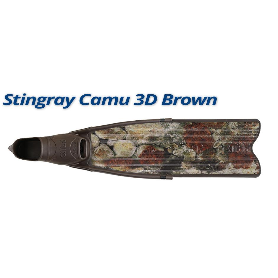 OMERS SUB - Stingray Camu 3D Brown
