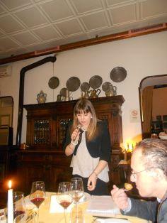 Sofia Bruseghini - la speaker della serata