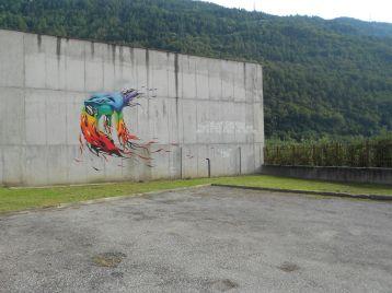 Street Art e Writing a Tirano nel'ex carcere mandamentale di Tirano 12