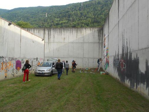 Street Art e Writing a Tirano nel'ex carcere mandamentale di Tirano 67