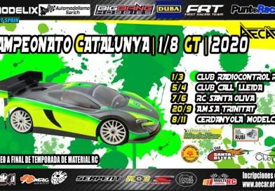 1ª Del Campeonato de Cataluña 1/8 GT 2020