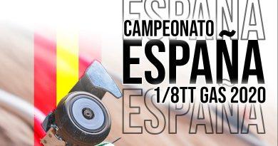 1ª Del Campeonato de España 1/8 TT 2020 AECAR – Sevilla