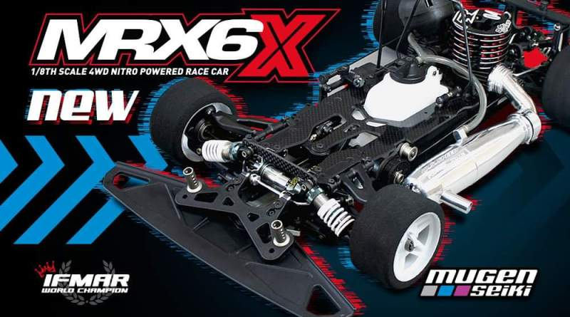Mugen Seiki MRX6X 2020 1/8 1:8