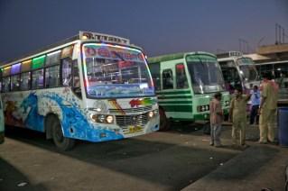 Estación de autobuses de Pondicherri, Tamil Nadu