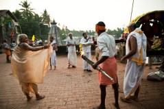 Celebrando Maha Shivaratri en Gokarna, Karnataka