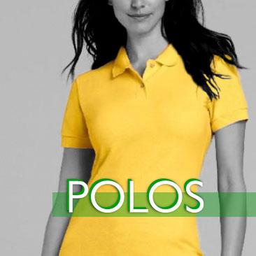 Playera Polo Amarilla