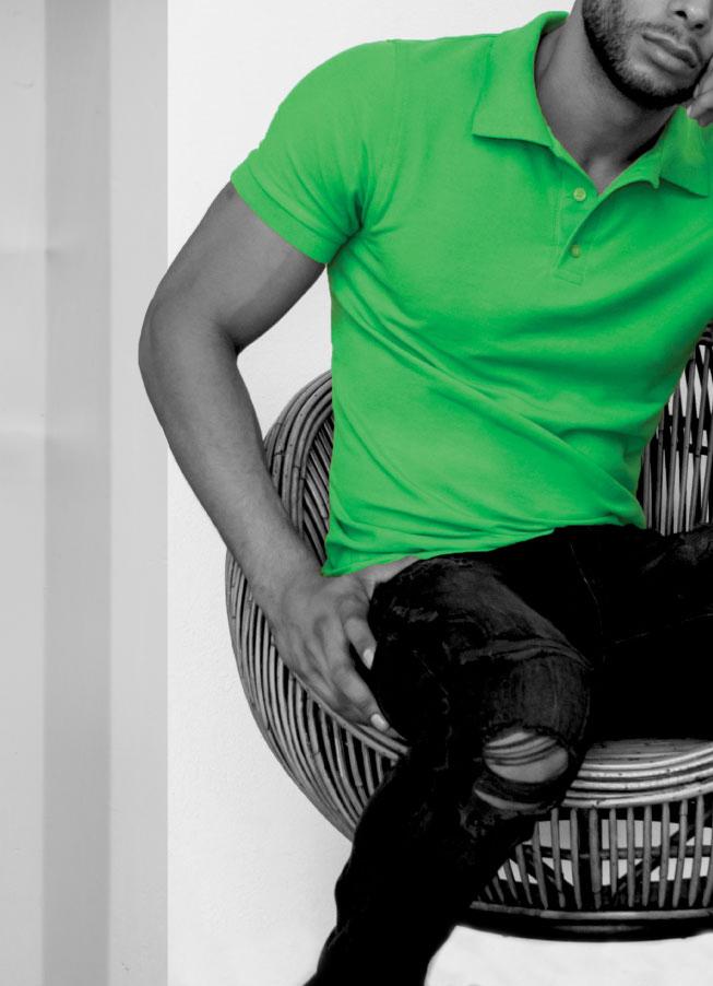 Playera Polo Verde