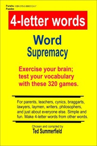 320 4-Letter Word Puzzles