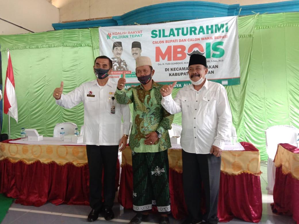 Gus Nur Rois Syuriah MWC Nahdlatul Ulama di Kecamatan Tulakan