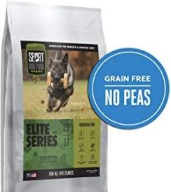 Sport Dog Food Elite Series Working Dog Turkey Formula Grain-Free Dry Dog Food
