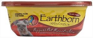 Earthborn Holistic Pepper's Pot Roast Grain-Free Natural Moist Dog Food, 8-oz, case of 8