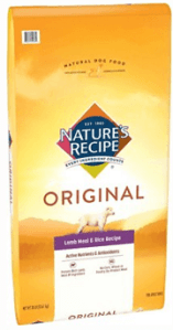 Nature's Recipe Adult Lamb Meal & Rice Recipe Dry Dog Food