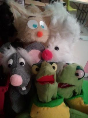 Puppets for a ministry group