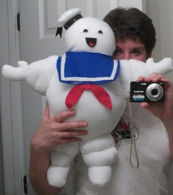 Stay-Puft Marshmallow Man for charity