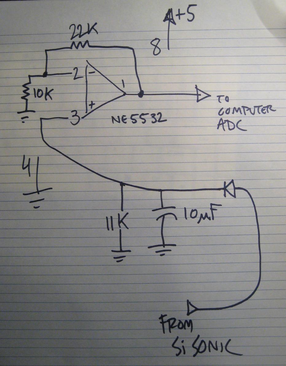 Envelope Follower Schematic