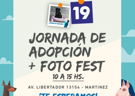 Jornada de Adopción y Fotofest en Puppis Libertador