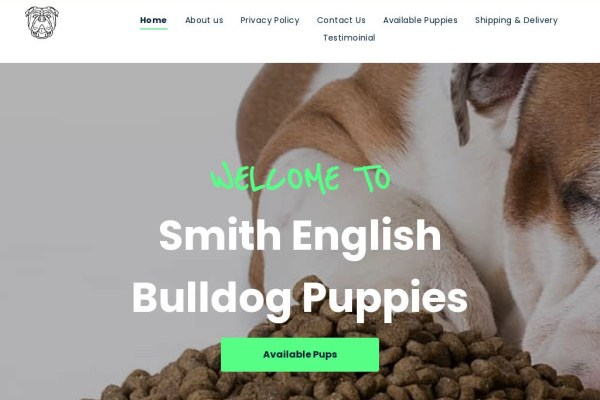 Smithenglishbull.dog - English Bulldog Puppy Scam Review