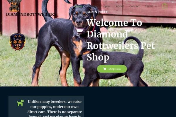 Diamondrottweilers.com - Rottweiler Puppy Scam Review