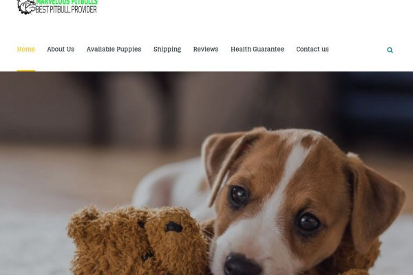 Marvelouspitbulls.com - Pit Bull Puppy Scam Review