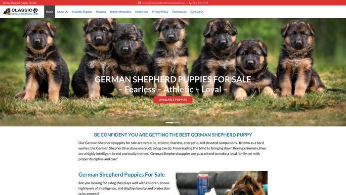 Classicgermanshepherdhome.com - Germanshepherd Puppy Scam Review