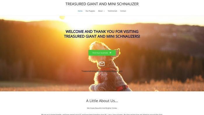 Treasuredminiandgiantschnauzerhome.com - Schnauzer Puppy Scam Review