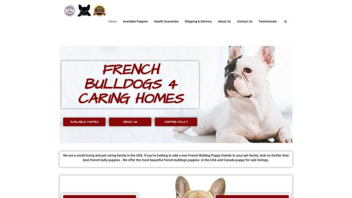 Frenchbulldog.4caringhome.com - French Bulldog Puppy Scam Review