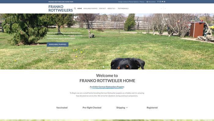 Homeofrangongospupps.com - Rottweiler Puppy Scam Review
