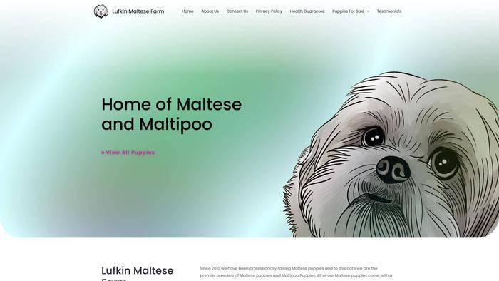 Lufkinmaltesefarm.com - Maltese Puppy Scam Review