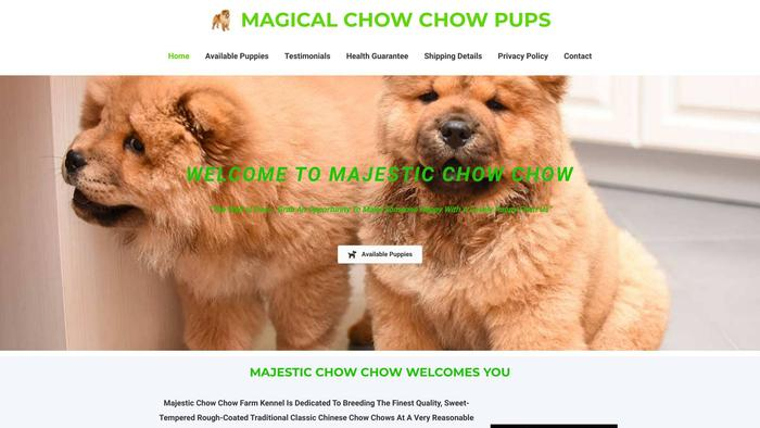Magicalchowchowpuppies.com - Chowchow Puppy Scam Review