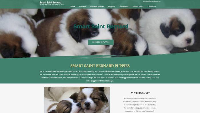 Smartbernards.com - Saint Bernard Puppy Scam Review