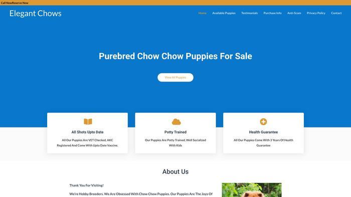 Elegantchows.com - Chowchow Puppy Scam Review
