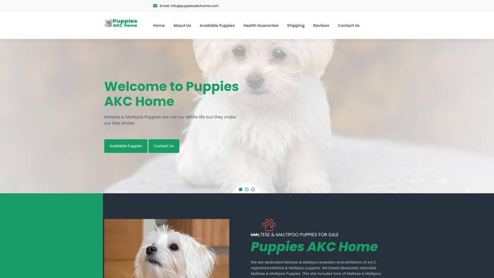 Puppiesakchome.com - Maltese Puppy Scam Review