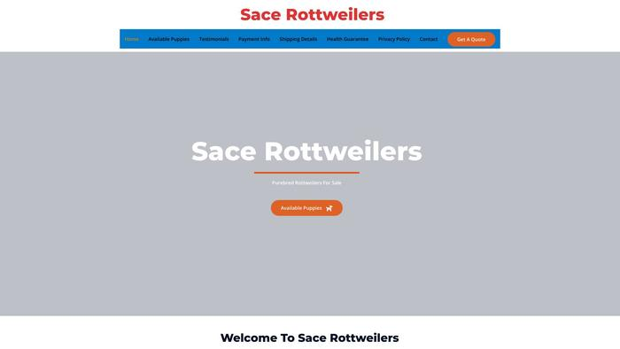 Sacerottweilers.com - Rottweiler Puppy Scam Review