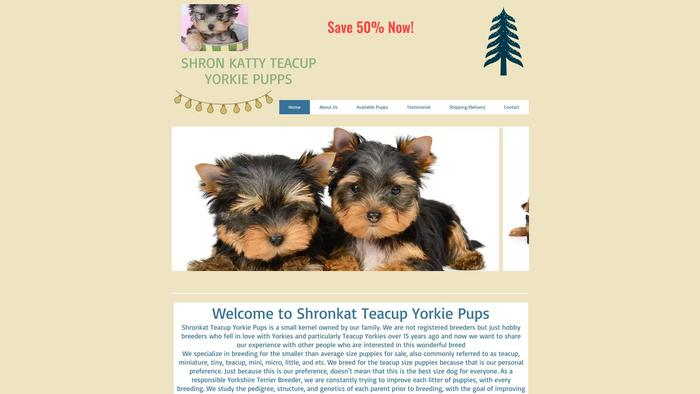 Shronkatyteacupyorkie.com - Yorkshire Terrier Puppy Scam Review