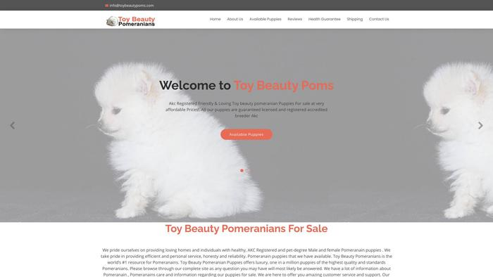Toybeautypoms.com - Pomeranian Puppy Scam Review